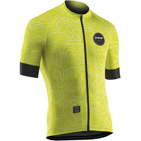 Northwave Lemonade Bike Jersey Shortsleeve Men yellow